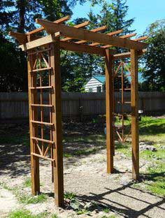 Frame Your Garden With a DIY Arbor for $150
