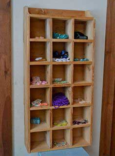 Build a $10 Cedar Cubby Shelf