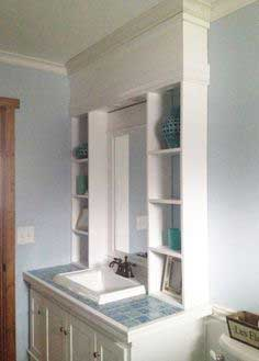 Vanity Hutch with Recessed