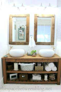 Build a DIY Wood Vanity