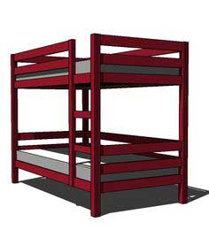 Build a Classic Bunk Beds | Free and Easy DIY Project and Furniture Plans