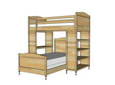 Build a Chelsea Twin Bed or Bottom Bunk | Free and Easy DIY Project and Furniture Plans