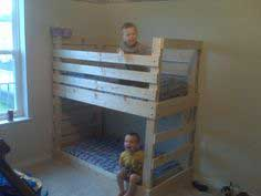 Build a Crib size mattress toddler bunk beds | Free and Easy DIY Project and Furniture Plans