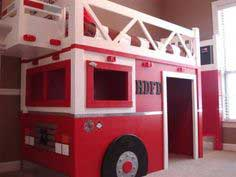 Build a Fire Truck Loft Bed | Free and Easy DIY Project and Furniture Plans