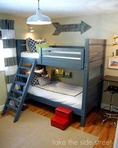 Build a Side Street Bunk Beds | Free and Easy DIY Project and Furniture Plans
