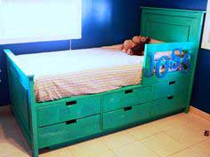 Build a Fillman Storage Bed with Drawers | Free and Easy DIY Project and Furniture Plans