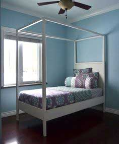 Build a Hannah Canopy Bed | Free and Easy DIY Project and Furniture Plans