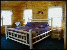 Build a log bed or choose of one of the other many free bed plans