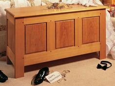 Frame and Panel Hope Chest