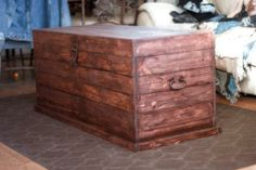 Pottery Barn Inspired Trunk