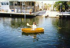 Micro Folding Dinghy plans and