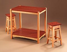 Build a Bar Table and Stools