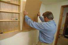 Build Recessed Wall Shelves
