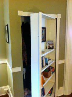 Book Case with Hidden Door