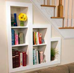Recessed Bookshelf Plan