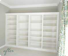 Billy Built-in Bookcase
