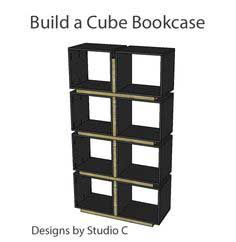 Cube Bookcase Project