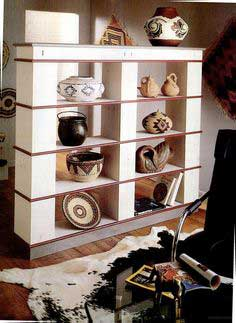 Stylish Bookcase Divider
