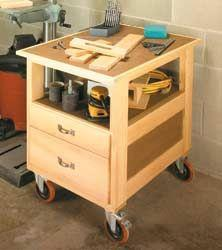 Cart Plans 90 Free Plans For Kitchen Garage Utility
