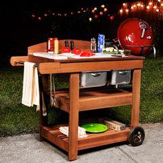 Grill Cart Plans - How to Make a Grill Cart