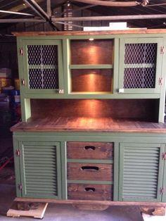 Country China Cabinet Tutorial