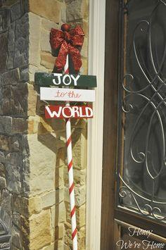 Christmas Craft (DIY Outdoor Holiday Sign)