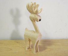 Cutting a 3-D reindeer on the bandsaw - tutorial