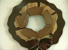 How to Make a Wooden Wreath