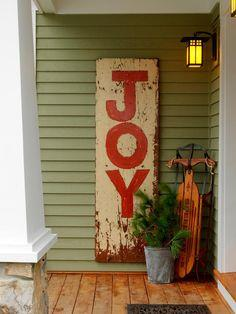 how to turn a salvage board or an old door into a custom sign