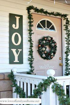 painted joy sign tutorial