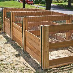 build the ultimate composting system