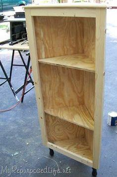 how to make a small cupboard