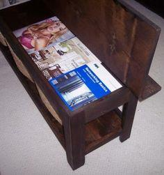 FLIP TOP STORAGE BENCH / COFFEE TABLE