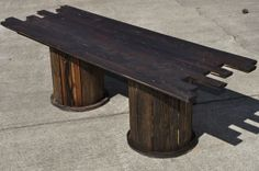 Ultimate Mancave Coffee Table from Recycled Materials