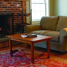 Free Plan: Arts & Crafts Coffee Table