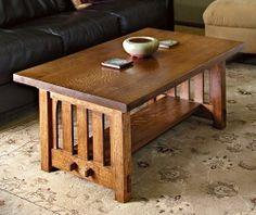 HOW TO BUILD A MISSION-STYLE COFFEE TABLE IN THE ARTS AND CRAFTS TRADITION