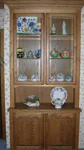 Wooden China Cabinet