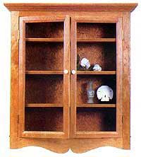 Wall-Hung Curio Cabinet
