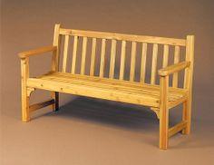 build a bench cedar bench plans