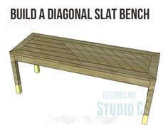 Build a Stylish Bench