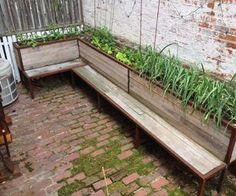 Planter and seating