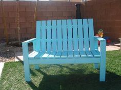 Build a Kids Lounge Bench