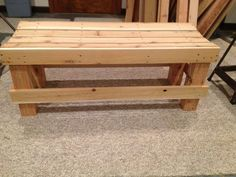 Tutorial - simple bench