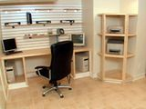 How To Create a Basement Home Office Desk