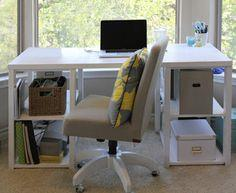 DIY Home Office or Child's Desk tutorial