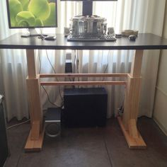 Electric Height Adjustable Desk tutorial