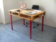 Pallet desk tutorial