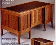 How to Build a Mahogany Desk