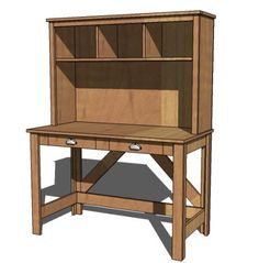 Brookstone Desk Hutch plans