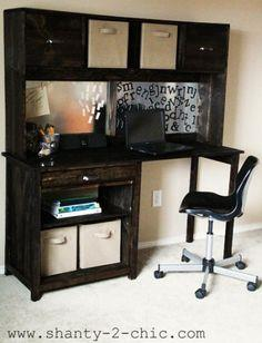 Channing Desk Hutch tutorial